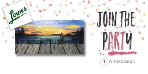 Sip + Paint Dock of the Bay at the Community Table