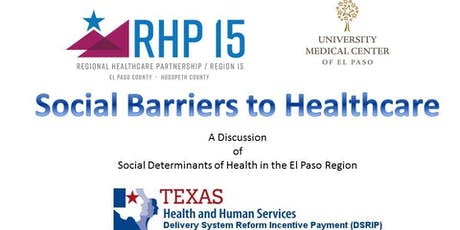 RHP 15 Learning Collaborative 2019 - Social Barriers to Healthcare  tickets