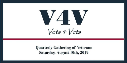 V4V August 10th - 3rd Quarterly Gathering - Exhibitors Tables