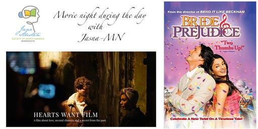 Movie Night During The Day with JASNA-MN (Jane Austen Society of Minnesota)