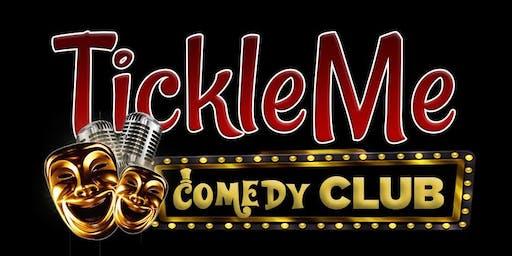 Traci Skene, David Lee, and Isaac Israel @ Tickle Me Comedy Club