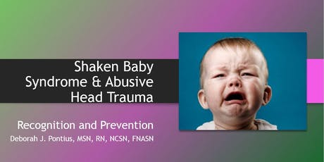 Prevention of Shaken Baby Syndrome & Abusive Head Trauma tickets