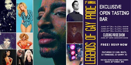 Legends of Gay Pride Closing Party with Laith Ashley - 6.29.19 tickets