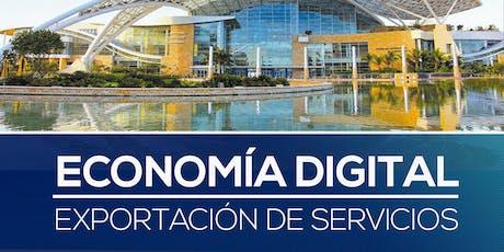 Economía Digital: Exportación de Servicios tickets