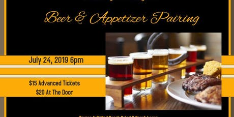Beer & Appetizer Pairing tickets