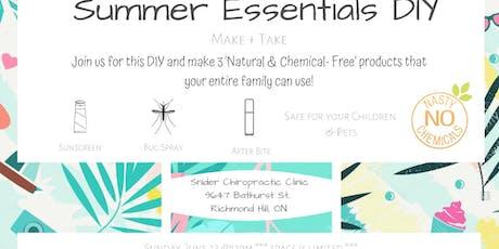 Summer Essentials DIY Workshop- Sunday, June 23  tickets
