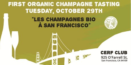 Organic Champagne Grower Producer Tasting tickets