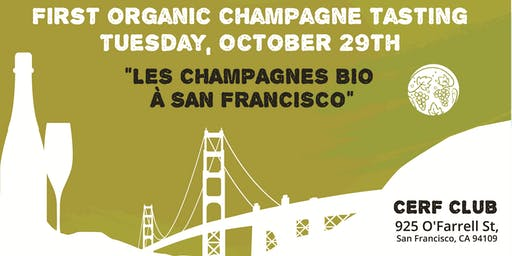 Organic Champagne Grower Producer Tasting