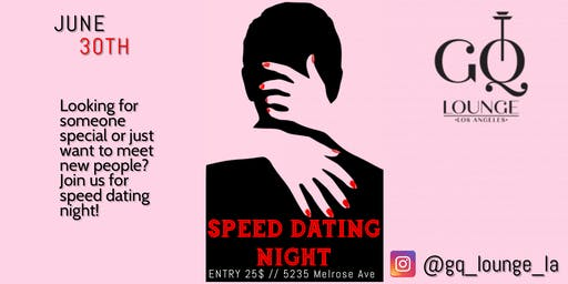 Cougar Speed Dating los angeles