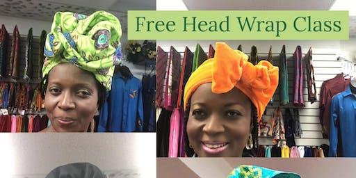 Free Head Wrap Class