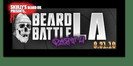 Skullys Beard Oil Presents: Beard Battle 4 tickets