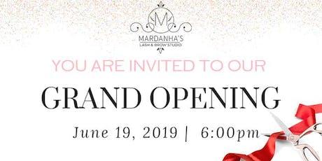 Mardanha's Grand Opening tickets