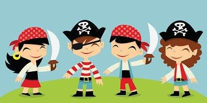 Outdoor Toddler Time: Pirate Adventure