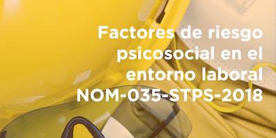 Factores de Riesgo Psicosocial en el Entorno Laboral NOM-035-STPS-2018