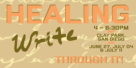 Healing WRITE Through It! tickets