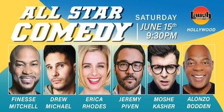 Jeremy Piven, Alonzo Bodden, Moshe Kasher - Special Event: All-Star Comedy! tickets