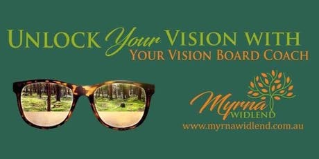 Unlock Your Vision - Create Your Personalised Vision Board tickets