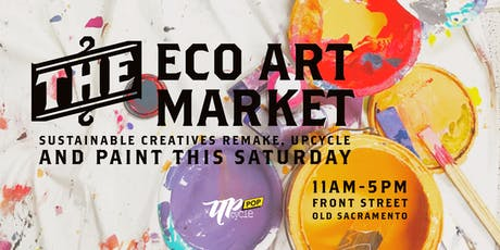 UpcyclePop - Eco Art and Remaker Market June 15 tickets