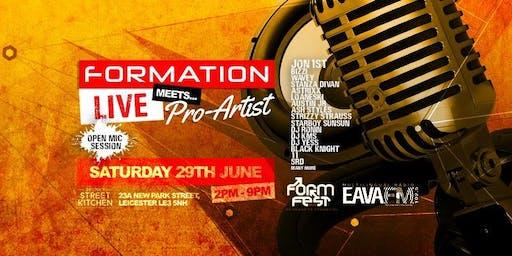 Formation Live Meets Pro Artists @Formfest 2019