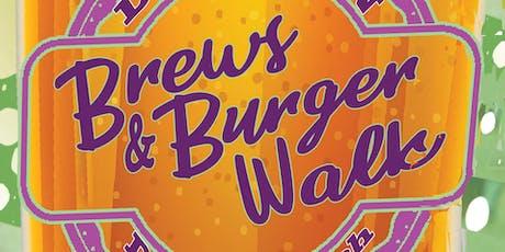 Brews & Burger Walk tickets