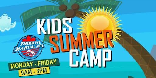 Summer Leadership Taekwondo Camp