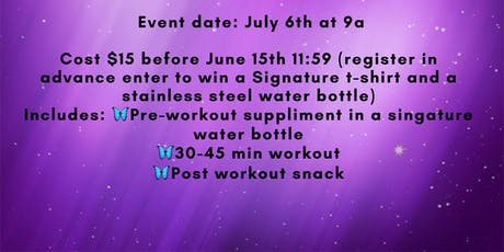 Stay Fit on the Fourth tickets