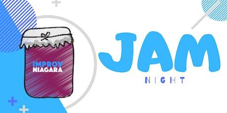 Jam Night with Improv Niagara tickets