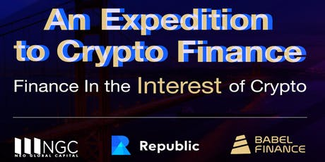An Expedition to Crypto Finance tickets