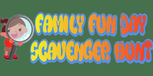 Family Fun Day Scavenger Hunt