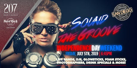 21+/ Sound The Groove | Hard Rock Hotel's 207 [San Diego, CA] tickets