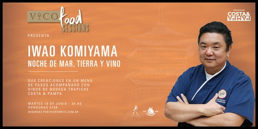 Vico Food Sessions | Noche de Mar, Tierra y Vino