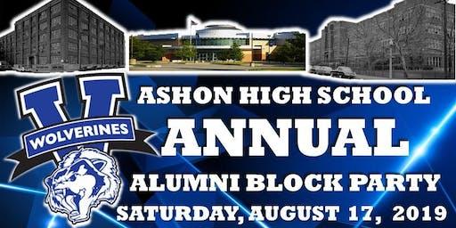 VASHON ANUAL ALUMNI BLOCK PARTY