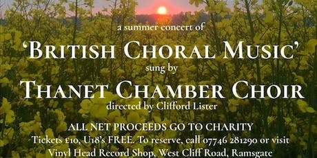 British Choral Music tickets