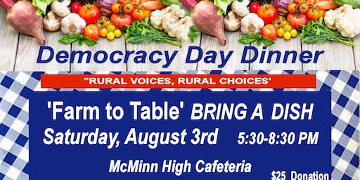 Democracy Day Dinner