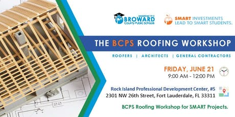 BCPS Roofing Workshop tickets
