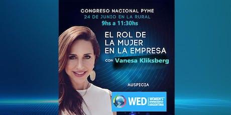 Panel WED: El rol de la Mujer en la Empresa entradas