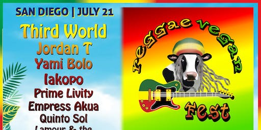 San Diego Reggae Vegan Fest with Third World