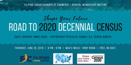 FJC GMM and Learning Session: Road to 2020 Decennial Census tickets