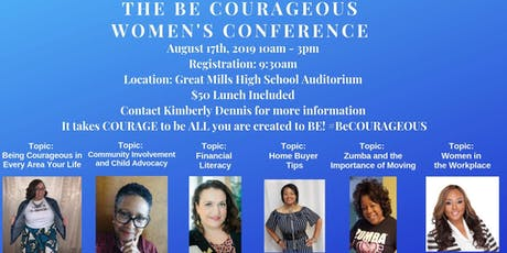 The Be Courageous Women's Conference tickets