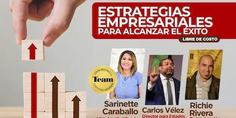 Estrategias Empresariales Para Alcanzar El Éxito  Tickets