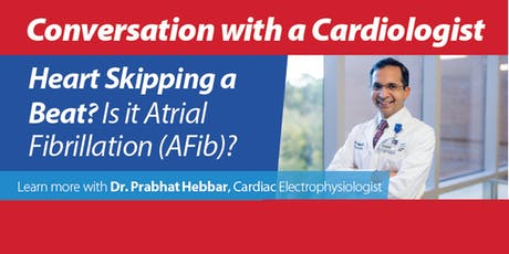 Conversation with a Cardiologist - Dr. Prabhat Hebbar tickets