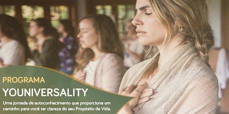 Programa YOUniversality ingressos