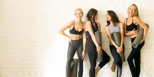 Sensie Launch Party - Yoga + Good Times!