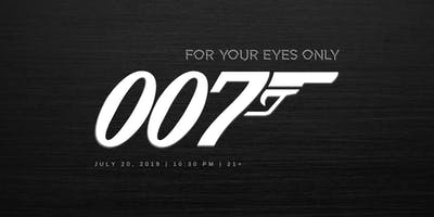 Tomorrow Never Dies: A James Bond Party