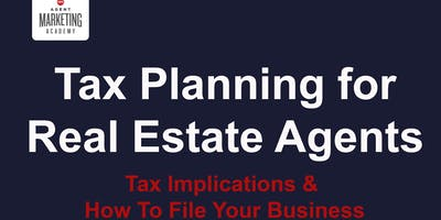 Real Estate Tax Planning for Real Estate Agents