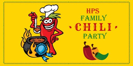 The 2nd Annual HPS Family Chili Party tickets