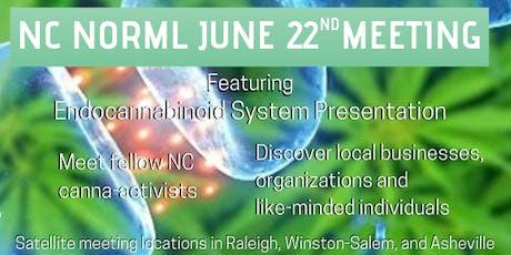 Public Meeting NCNORML & Dr. Kevin Baiko, MD discuss cannabis tickets
