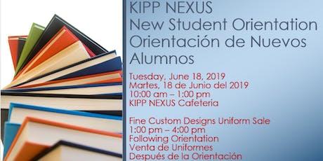 Mandatory Orientation for New Students - Orientación de Nuevos Alumnos tickets