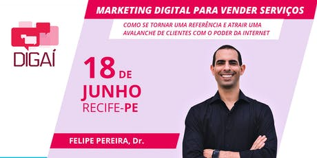 Palestra Marketing Digital para Vender Serviços ingressos
