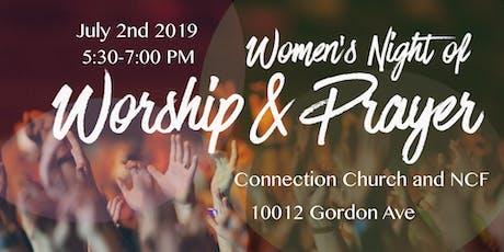 Women's Prayer Night tickets